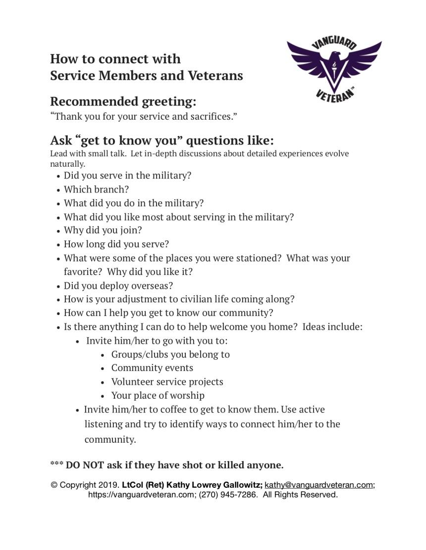 Veteran Ready Employer Resources Vanguard Veteran