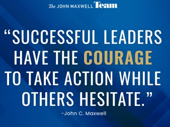Courage to take action TEAM