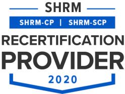 SHRM Recertification Provider CP-SCP Seal 2020 copy